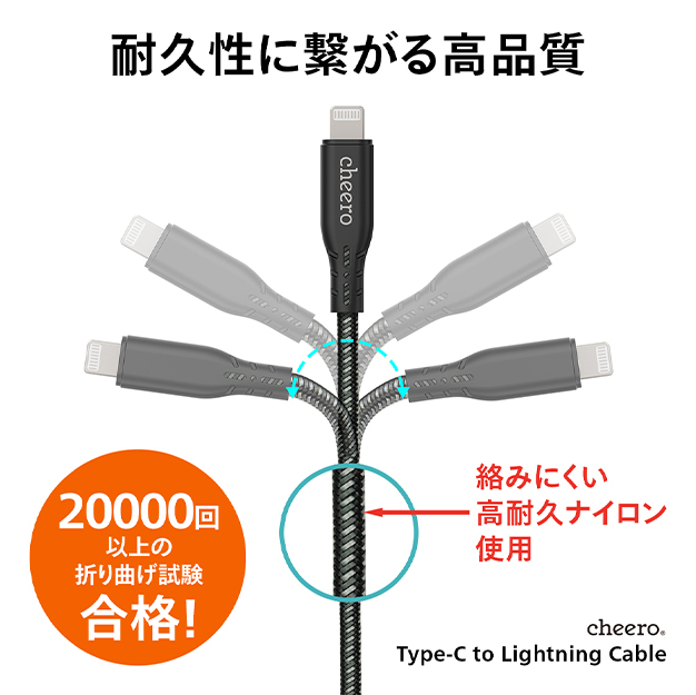 Type-C to Lightning Cable 100cm