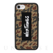 【iPhone8/7/6s/6 ケース】WILD THINGS Hybrid Case (ロゴ/カモ)