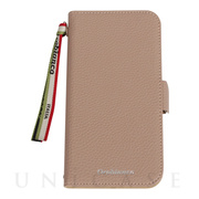 "【iPhone11 ケース】""シュリンク"" PU Leather Book Type Case (グレー)"