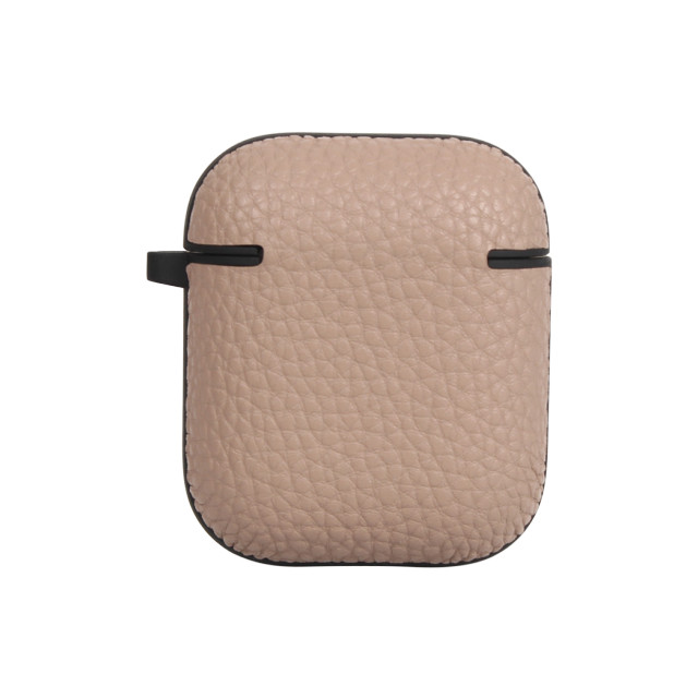 "【AirPods ケース】""シュリンク"" PU Leather AirPods Case (グレー)"