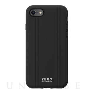 【iPhoneSE(第2世代)/8/7 ケース】ZERO HALLIBURTON Hybrid Shockproof Case for iPhoneSE(第2世代) (Black)