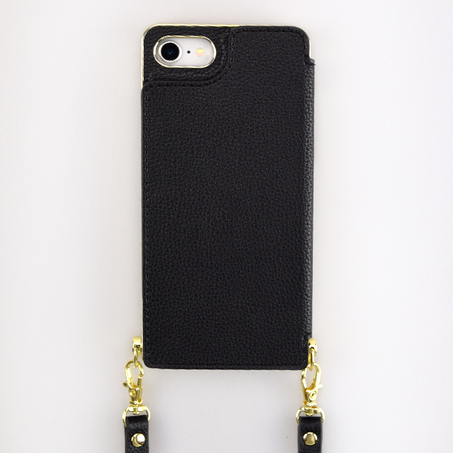 【iPhoneSE(第2世代)/8/7 ケース】Cross Body Case for iPhoneSE(第2世代) (black)