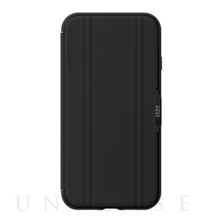 【iPhoneSE(第2世代)/8/7 ケース】ZERO HALLIBURTON Hybrid Shockproof Flip Case for iPhoneSE(第2世代) (Black)