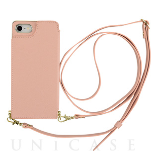 【iPhoneSE(第2世代)/8/7 ケース】Cross Body Case for iPhoneSE(第2世代) (pink)