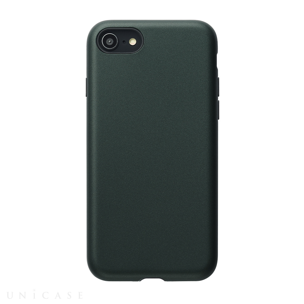 【iPhoneSE(第2世代)/8/7 ケース】Smooth Touch Hybrid Case for iPhoneSE(第2世代) (green)