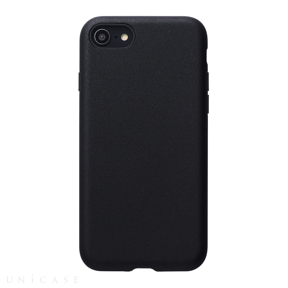 【iPhoneSE(第2世代)/8/7 ケース】Smooth Touch Hybrid Case for iPhoneSE(第2世代) (black)