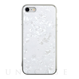 【iPhoneSE(第2世代)/8/7 ケース】Glass Shell Case for iPhoneSE(第2世代) (white)