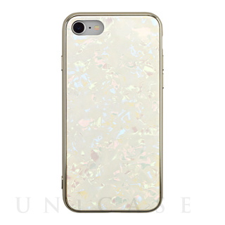 【iPhoneSE(第2世代)/8/7 ケース】Glass Shell Case for iPhoneSE(第2世代) (gold)