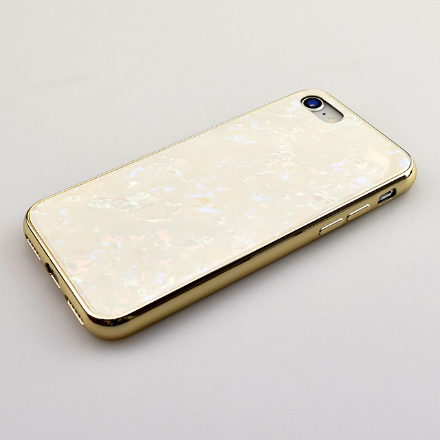 【iPhoneSE(第2世代)/8/7 ケース】Glass Shell Case for iPhoneSE(第2世代) (gold)サブ画像