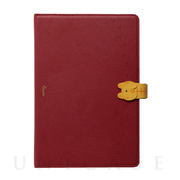 【iPad(10.2inch)(第7世代)/ Air(10.5inch)(第3世代)/Pro(10.5inch) ケース】手帳型ケース Cocotte (Red)