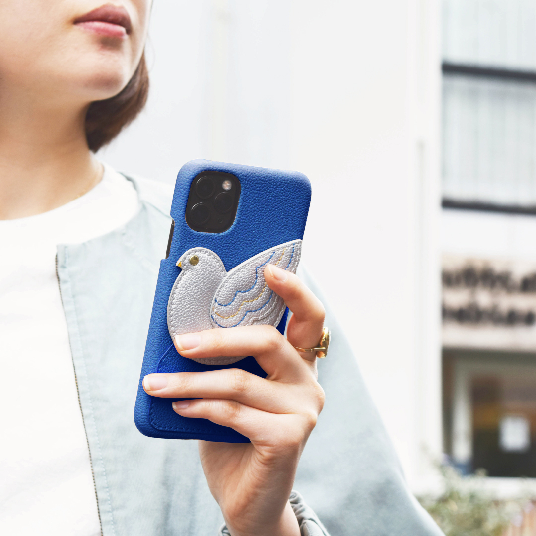 【iPhone11 Pro ケース】peace of mind case for iPhone11 Pro (blue)サブ画像