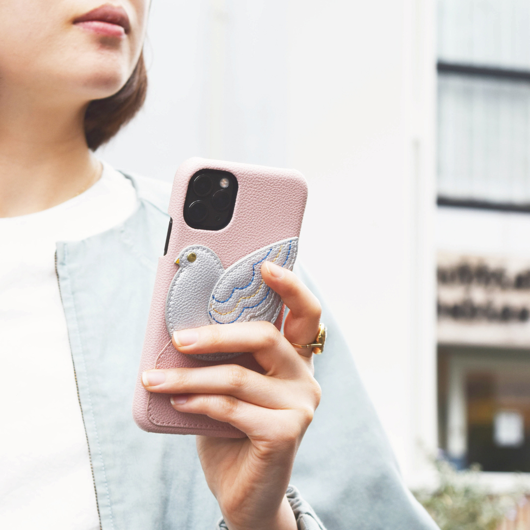 【iPhone11 Pro ケース】peace of mind case for iPhone11 Pro (babypink)サブ画像