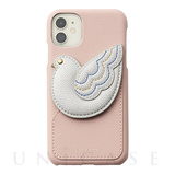 【iPhone11/XR ケース】peace of mind case for iPhone11 (babypink)