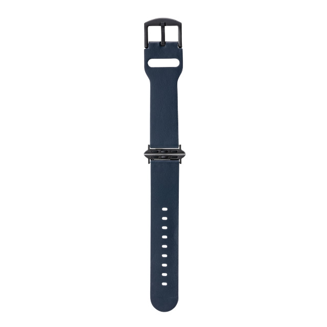 【AppleWatch SE/Series6/5/4/3/2/1(44/42mm) バンド】Italian Genuine Leather Watchband (Navy)サブ画像
