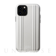【アウトレット】【iPhone11 Pro ケース】ZERO HALLIBURTON Hybrid Shockproof case for iPhone11 Pro (Silver)