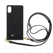 【アウトレット】【iPhoneXS/X ケース】Cross Body Case for iPhoneXS/X(black)