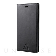 "【iPhone11 Pro/XS/X ケース】""A.INIESTA Signature Model"" Italian Genuine Leather Book Case"