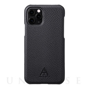 "【iPhone11 Pro ケース】""A.INIESTA Signature Model"" German Shrunken-calf Genuine Leather Shell Case"