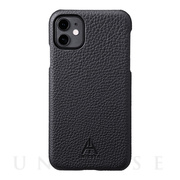 "【iPhone11/XR ケース】""A.INIESTA Signature Model"" German Shrunken-calf Genuine Leather Shell Case"