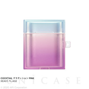 【AirPods ケース】TILE COCKTAIL (グラデーション PINK)