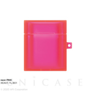 【AirPods ケース】TILE neon (PINK)