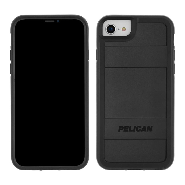 【iPhoneSE(第2世代)/8/7/6s/6 ケース】PELICAN × Case-Mate Protector (Black)