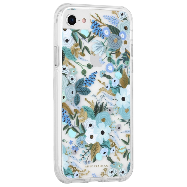【iPhoneSE(第2世代)/8/7/6s/6 ケース】RIFLE PAPER × Case-Mate (Garden Party Blue)サブ画像