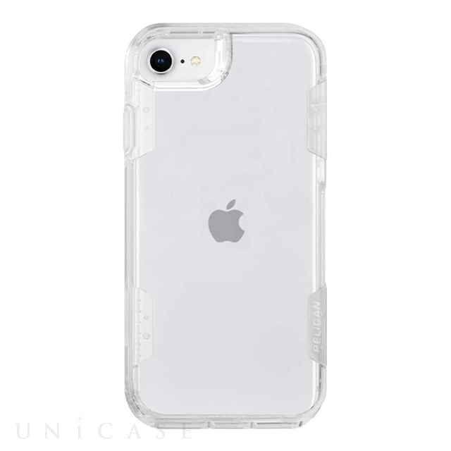 【iPhoneSE(第2世代)/8/7/6s/6 ケース】PELICAN × Case-Mate Voyager (Clear)