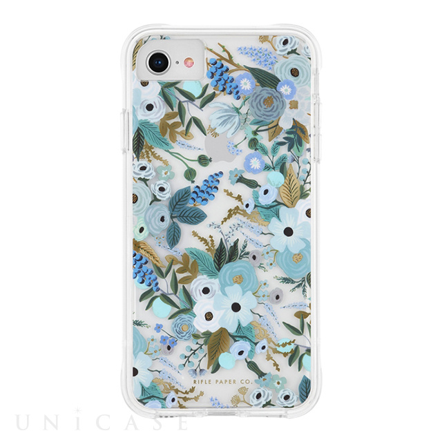 【iPhoneSE(第2世代)/8/7/6s/6 ケース】RIFLE PAPER × Case-Mate (Garden Party Blue)