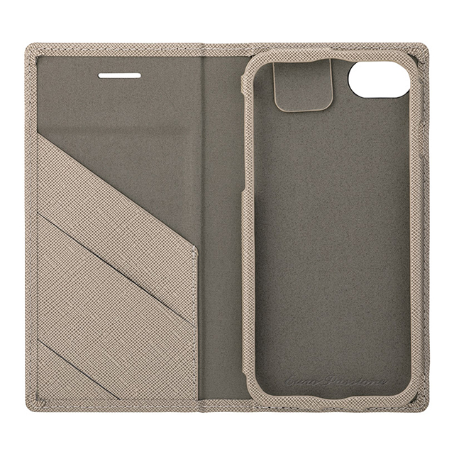 "【iPhoneSE(第2世代)/8/7/6s/6 ケース】""EURO Passione"" PU Leather Book Case (Taupe)サブ画像"