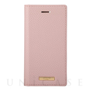 "【iPhoneSE(第2世代)/8/7/6s/6 ケース】""Shrink"" PU Leather Book Case (Pink)"