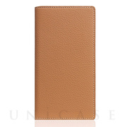 【iPhoneSE(第2世代)/8/7 ケース】Full Grain Leather Case (Caramel Cream)