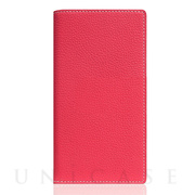 【iPhoneSE(第2世代)/8/7 ケース】Full Grain Leather Case (Pink Rose)