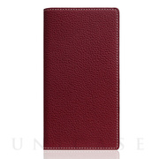 【iPhoneSE(第2世代)/8/7 ケース】Full Grain Leather Case (Burgundy Rose)