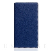 【iPhoneSE(第2世代)/8/7 ケース】Full Grain Leather Case (Navy Blue)