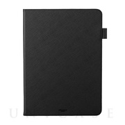 "【iPad Pro(11inch)(第2世代) ケース】""EURO Passione"" Book PU Leather Case (Black)"