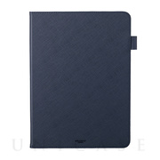 "【iPad Pro(11inch)(第2世代) ケース】""EURO Passione"" Book PU Leather Case (Navy)"