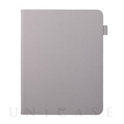 "【iPad Pro(12.9inch)(第4世代) ケース】""EURO Passione"" Book PU Leather Case (Gray)"