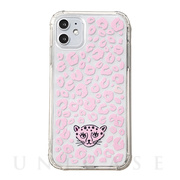 【iPhone11 ケース】FLAIR CASE & CASE (PINK LEOPARD)