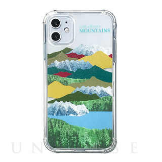 【iPhone11 ケース】FLAIR CASE & CASE (MOUNTAIN)