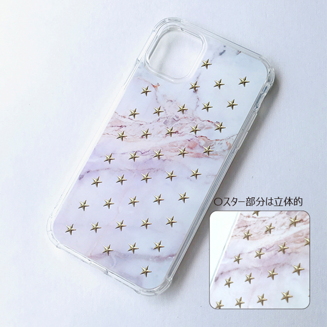 【iPhone11 ケース】FLAIR CASE & CASE (MARBLE STAR)サブ画像