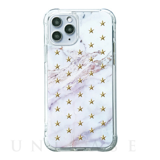 【iPhone11 Pro ケース】FLAIR CASE & CASE (MARBLE STAR)