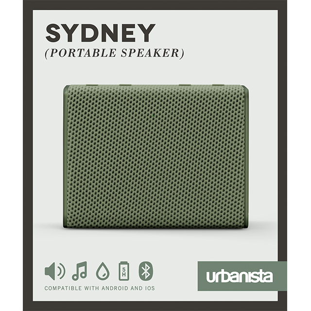 Sydney Pocket-Sized Speaker (Olive Green - Green)サブ画像