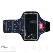 【スマホポーチ】EVERLAST Arm Band (NAVY)