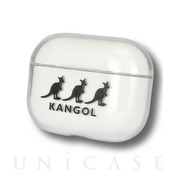 【AirPods Pro ケース】KANGOL AirPods Proクリアケース (ロゴ)