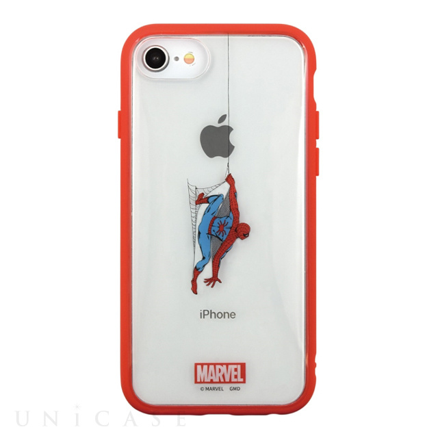 【iPhoneSE(第2世代)/8/7/6s/6 ケース】MARVEL IIII fit Clear (スパイダーマン)