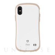 【iPhoneXS/X ケース】iFace First Class Cafeケース (ミルク)