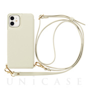 【iPhone12 mini ケース】Cross Body Case for iPhone12 mini (ivory)
