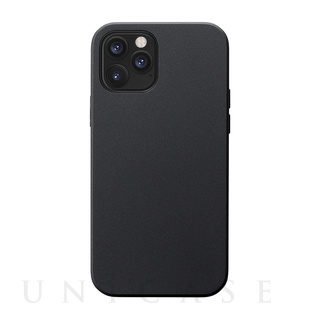 【iPhone12/12 Pro ケース】Smooth Touch Hybrid Case for iPhone12/12 Pro (black)
