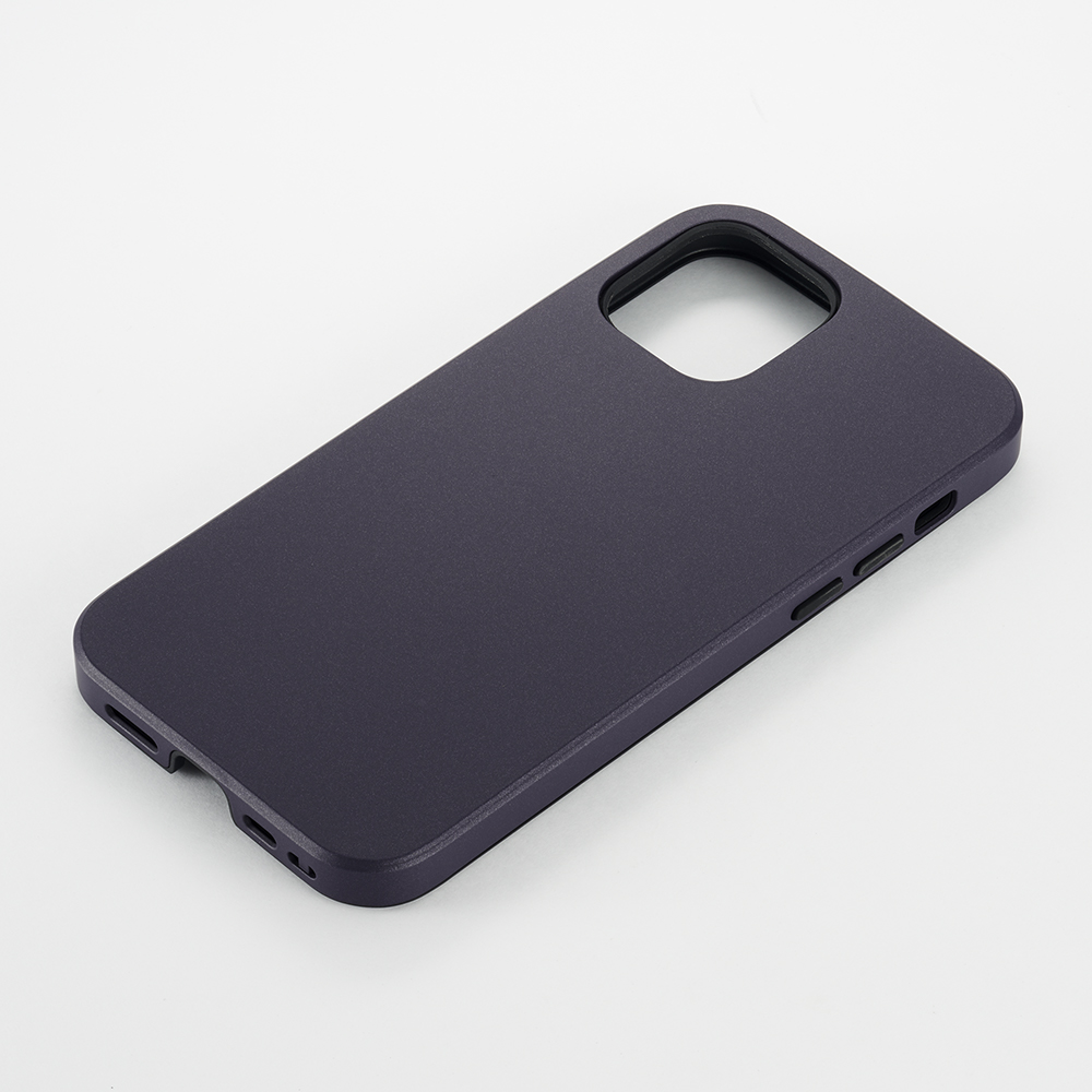 【iPhone12/12 Pro ケース】Smooth Touch Hybrid Case for iPhone12/12 Pro (purple)サブ画像